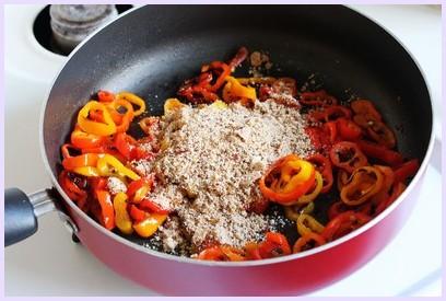 Vine sweet mini peppers subzi recipe - Indian style
