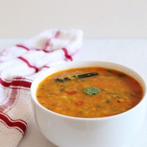 Green Garlic Dal Recipe   How to make Hare lehsun ki dal recipe