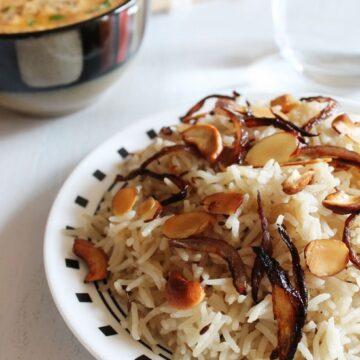 Biryani Rice Recipe | Biryani Chawal |Restaurant style Biryani Rice