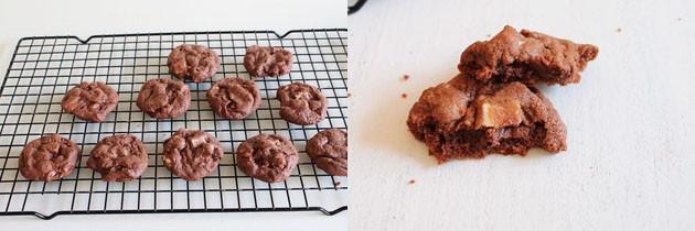 Eggless double chocolate cookies recipe   Eggless Cookie Recipe