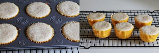 Eggless Lemon Cupcakes Recipe