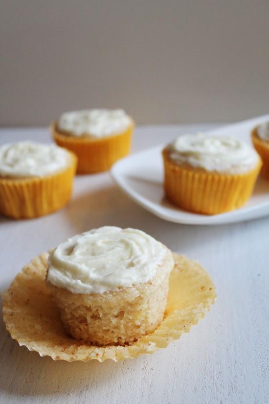 Eggless Lemon Cupcakes Recipe How To Make Eggless Lemon Cupcakes