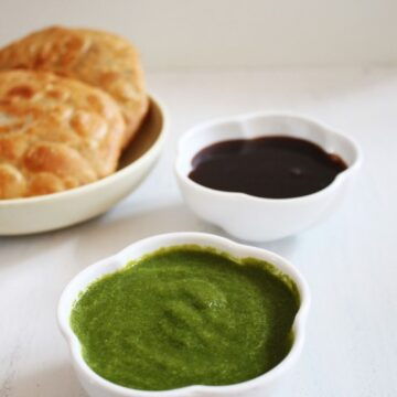 Green chutney recipe for chaat (Green coriander chutney recipe)
