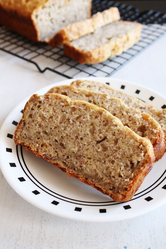 Eggless Banana Bread Recipe Vegan Banana Bread Recipe