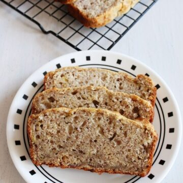 Eggless Banana Bread Recipe | Vegan Banana Bread | Easy Banana Bread