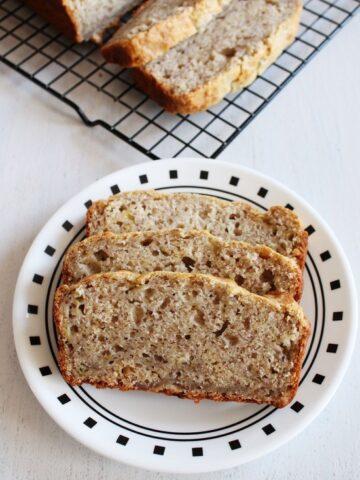 Eggless Banana Bread Recipe | Vegan Banana Bread | Easy Banana Bread
