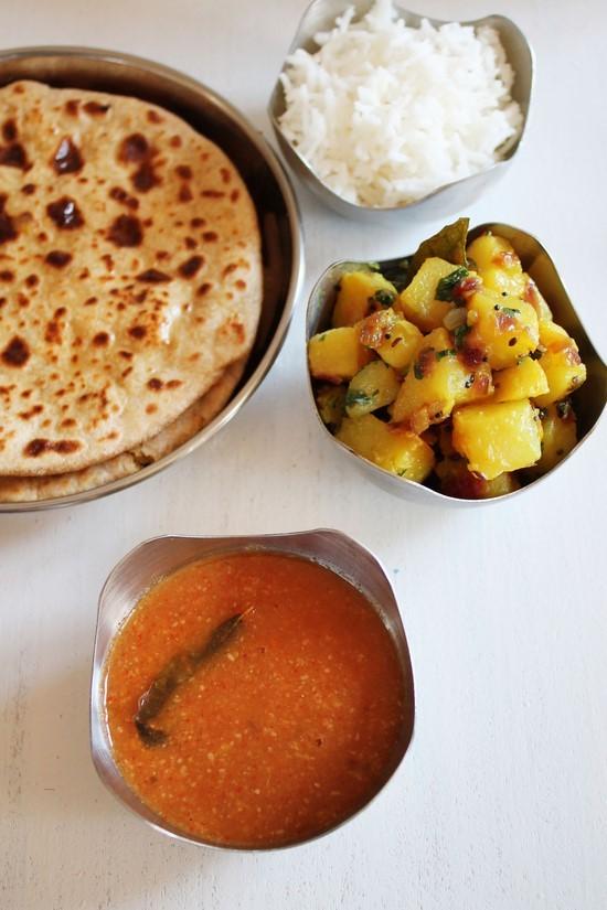 Katachi Amti Recipe | Maharashtrian katachi amti with Puran Poli