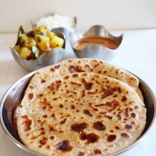 Puran Poli Recipe | Maharashtrian Puran Poli | Gujarati Vedmi Recipe