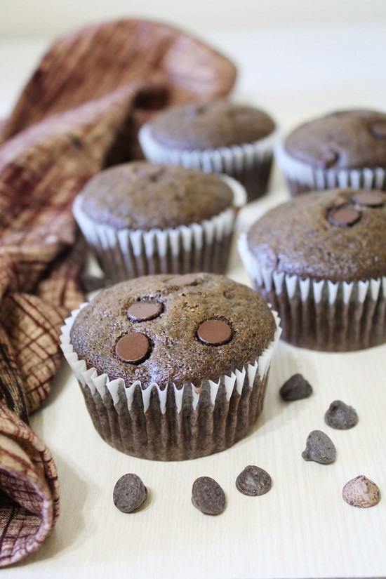 how to make eggless chocolate muffins