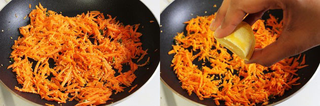 Carrot Sambharo Recipe | How to make Gujarati warm carrot salad