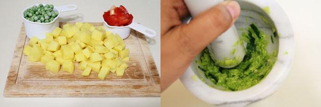 Gujarati Aloo Matar Recipe   How to make Aloo Mutter Recipe