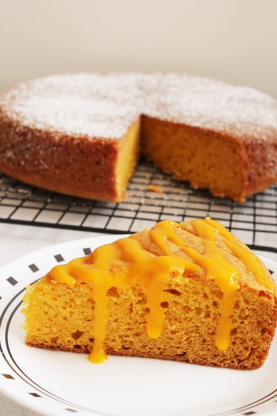Mango Cake Without Condensed Milk