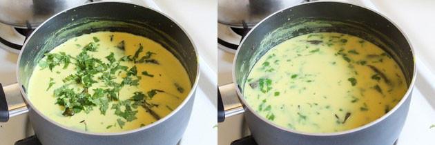 Gujarati Kadhi Recipe | How to make Gujarati Kadhi