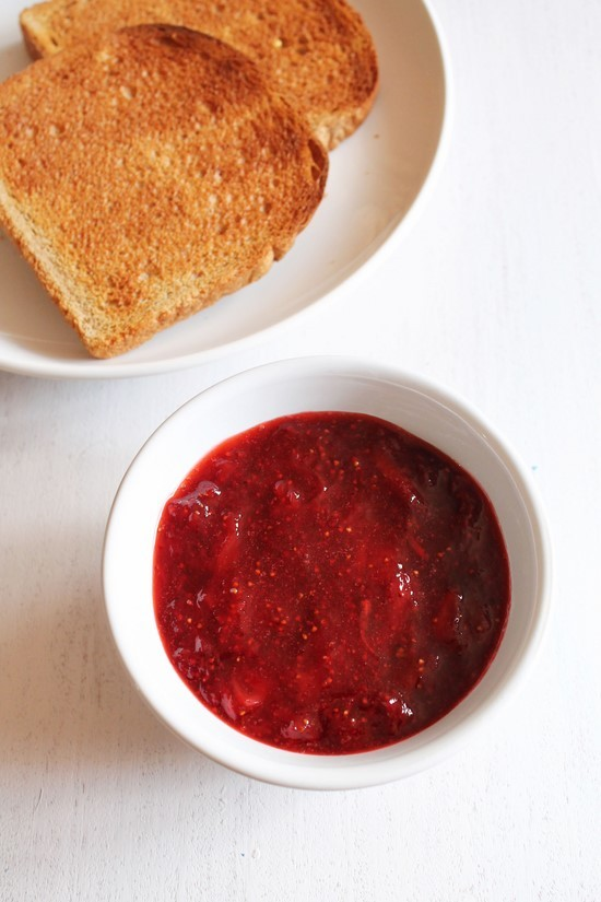 Strawberry Jam Recipe | How to make Homemade strawberry Jam