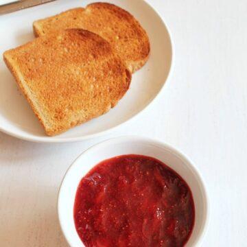 Strawberry Jam Recipe | How to make Homemade strawberry Jam