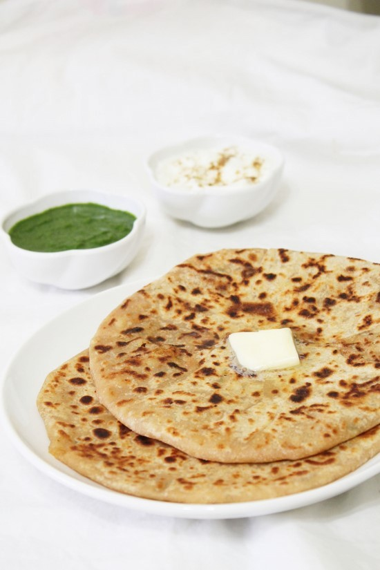 potato aloo paratha recipe by manjula and fresh aloo parathas aloo ...