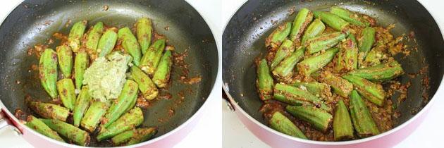Bharli Bhendi Recipe | Maharashtrian style stuffed bhindi