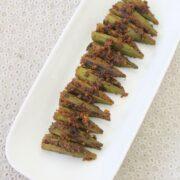 Bharli Bhendi Recipe | Maharashtrian style stuffed bhindi recipe