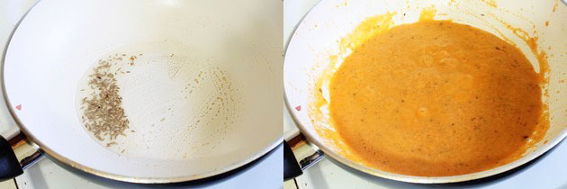 Make punjabi dum aloo gravy
