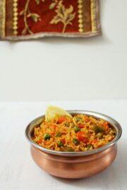 Tawa Pulao Recipe   Mumbai street food recipe   Tava Pulav