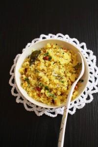 Kanda Batata Poha Recipe   Onion potato poha recipe
