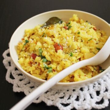 Kanda Batata Poha Recipe | Onion potato poha recipe