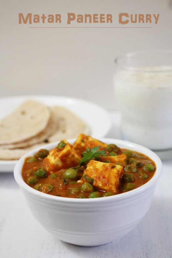 Matar Paneer Recipe | Punjabi mutter paneer masala recipe