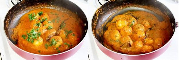 Lasaniya Batata Recipe   Gujarati style baby potatoes with garlic