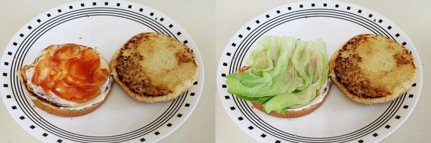 Aloo Tikki Burger Recipe   How to make aloo tikki burger at home