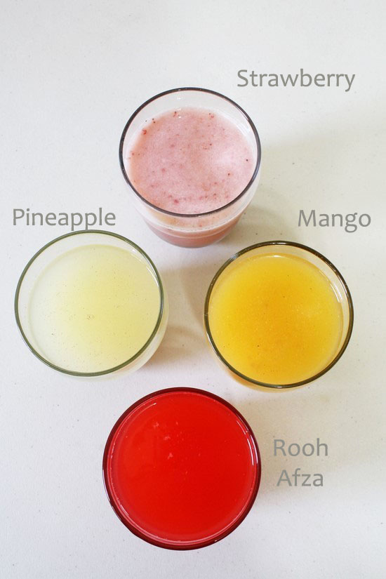 Beverages made using paneer whey