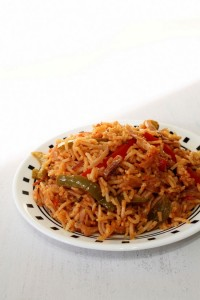 Capsicum Rice Recipe | How to make capsicum masala rice