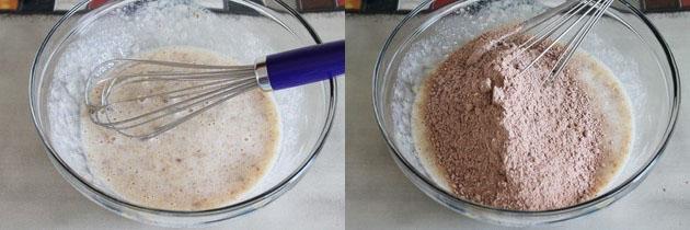 Eggless chocolate banana muffins recipe | Eggless muffins recipe