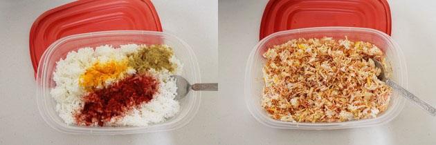 Vagharelo Bhaat Recipe | Gujarati style tempered rice recipe