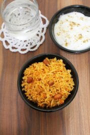 Vagharelo Bhaat Recipe   Gujarati style tempered rice recipe