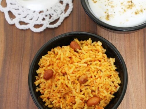 vagharelo bhaat recipe from leftover rice gujarati vagharelo bhat