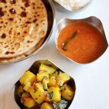 Batatyachi bhaji recipe   Maharashtrian batata bhaji recipe
