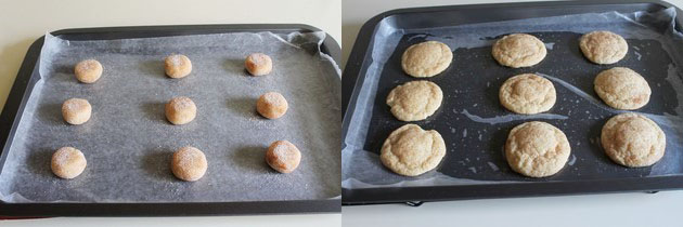 eggless snicker doodles cookies recipe