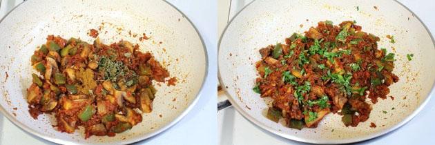 Kadai Mushroom Recipe | How to make kadai mushroom masala