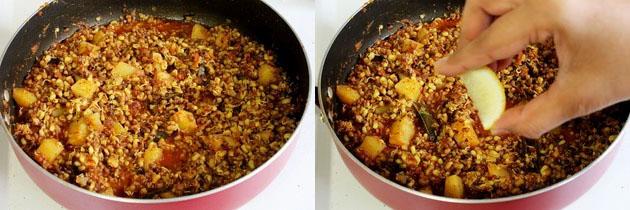 Matki usal recipe   How to make matki chi usal recipe