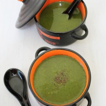 Palak soup recipe   Spinach soup   How to make palak soup