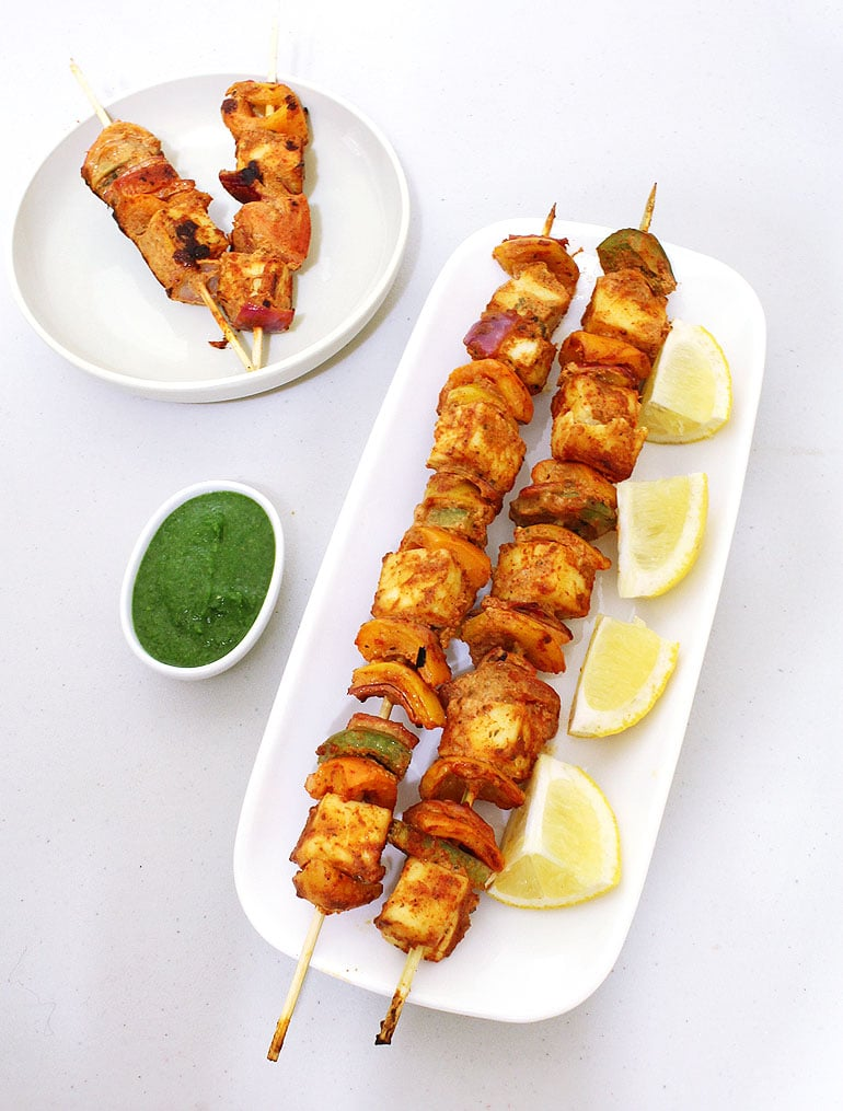 Paneer Tikka Recipe (How to make best paneer tikka recipe)