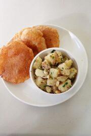 Farali sukhi bhaji recipe | Batata bhaji recipe for fast, vrat