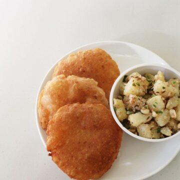 Rajgira ki poori recipe | Vrat ki poori | Amaranth puri