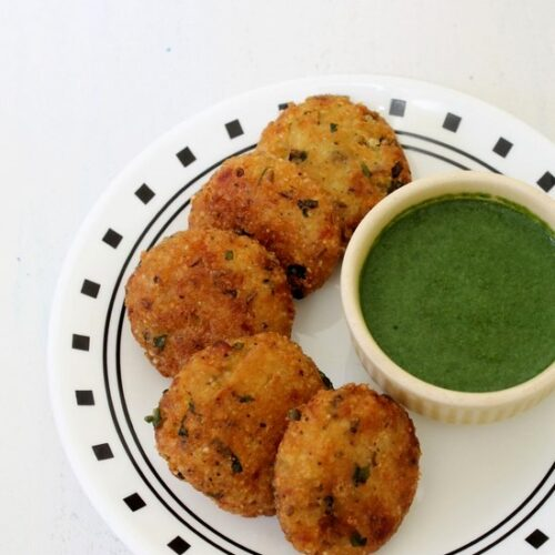 Vrat ke chawal ki tikki or cutlet recipe | Samvat rice cutlet recipe