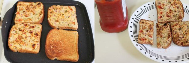 Sooji toast recipe (Rava toast), How to make sooji toast recipe