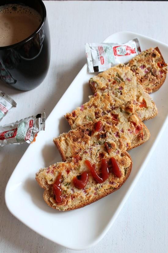 Sooji toast recipe (Rava toast), How to make sooji toast recipe