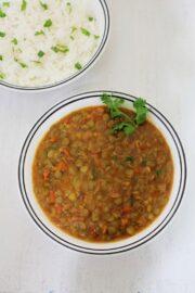 Whole masoor dal recipe (how to make sabut masoor dal recipe)