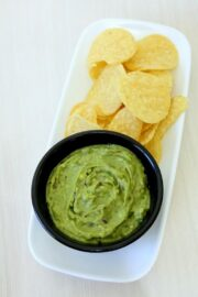 Avocado dip recipe Indian style (How to make Indian avocado dip recipe)