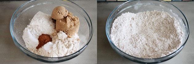 Eggless Apple Cinnamon Muffin Recipe | Eggless muffins recipe
