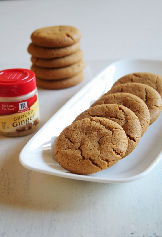 Eggless Ginger Cookies Recipe Chewy Ginger Molasses Cookies Recipe